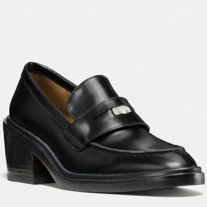New size added!!! Coach Heath Loafer in black
